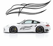 Pinstripe Pinstripes Car graphics Vinyl Decal Sticker Stickers MC567