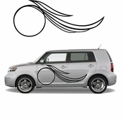 Pinstripe Pinstripes Car graphics Vinyl Decal Sticker Stickers MC568