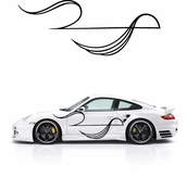 Pinstripe Pinstripes Car graphics Vinyl Decal Sticker Stickers MC578