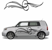 Pinstripe Pinstripes Car graphics Vinyl Decal Sticker Stickers MC583