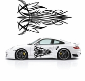 Pinstripe Pinstripes Car graphics Vinyl Decal Sticker Stickers MC585
