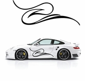 Pinstripe Pinstripes Car graphics Vinyl Decal Sticker Stickers MC606