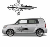 Pinstripe Pinstripes Car graphics Vinyl Decal Sticker Stickers MC628