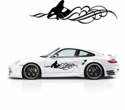 Pinstripe Pinstripes Car graphics Vinyl Decal Sticker Stickers MC632