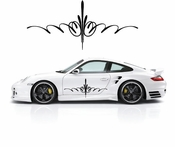 Pinstripe Pinstripes Car graphics Vinyl Decal Sticker Stickers MC636