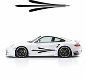 Pinstripe Pinstripes Car graphics Vinyl Decal Sticker Stickers MC637