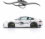 Pinstripe Pinstripes Car graphics Vinyl Decal Sticker Stickers MC640