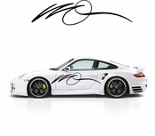 Pinstripe Pinstripes Car graphics Vinyl Decal Sticker Stickers MC642