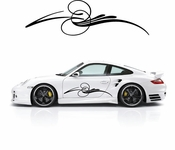 Pinstripe Pinstripes Car graphics Vinyl Decal Sticker Stickers MC644