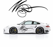 Pinstripe Pinstripes Car graphics Vinyl Decal Sticker Stickers MC645