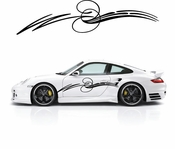Pinstripe Pinstripes Car graphics Vinyl Decal Sticker Stickers MC646