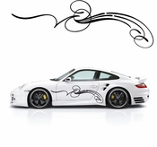 Pinstripe Pinstripes Car graphics Vinyl Decal Sticker Stickers MC651
