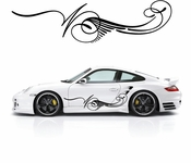Pinstripe Pinstripes Car graphics Vinyl Decal Sticker Stickers MC652