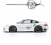 Pinstripe Pinstripes Car graphics Vinyl Decal Sticker Stickers MC660