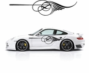 Pinstripe Pinstripes Car graphics Vinyl Decal Sticker Stickers MC664