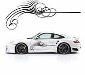 Pinstripe Pinstripes Car graphics Vinyl Decal Sticker Stickers MC666