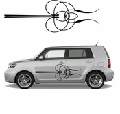 Pinstripe Pinstripes Car graphics Vinyl Decal Sticker Stickers MC667