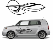 Pinstripe Pinstripes Car graphics Vinyl Decal Sticker Stickers MC670