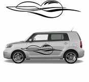Pinstripe Pinstripes Car graphics Vinyl Decal Sticker Stickers MC672