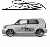 Pinstripe Pinstripes Car graphics Vinyl Decal Sticker Stickers MC674