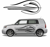 Pinstripe Pinstripes Car graphics Vinyl Decal Sticker Stickers MC675