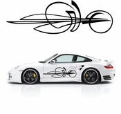 Pinstripe Pinstripes Car graphics Vinyl Decal Sticker Stickers MC680