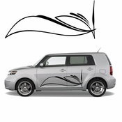 Pinstripe Pinstripes Car graphics Vinyl Decal Sticker Stickers MC681