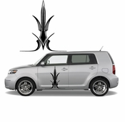 Pinstripe Pinstripes Car graphics Vinyl Decal Sticker Stickers MC694
