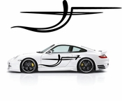 Pinstripe Pinstripes Car graphics Vinyl Decal Sticker Stickers MC704