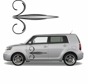 Pinstripe Pinstripes Car graphics Vinyl Decal Sticker Stickers MC709