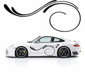Pinstripe Pinstripes Car graphics Vinyl Decal Sticker Stickers MC712