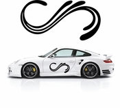 Pinstripe Pinstripes Car graphics Vinyl Decal Sticker Stickers MC714