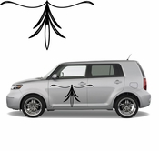 Pinstripe Pinstripes Car graphics Vinyl Decal Sticker Stickers MC715