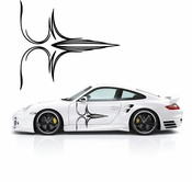 Pinstripe Pinstripes Car graphics Vinyl Decal Sticker Stickers MC717