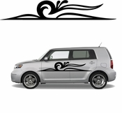 Pinstripe Pinstripes Car graphics Vinyl Decal Sticker Stickers MC721