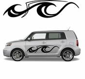 Pinstripe Pinstripes Car graphics Vinyl Decal Sticker Stickers MC782