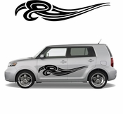 Pinstripe Pinstripes Car graphics Vinyl Decal Sticker Stickers MC788