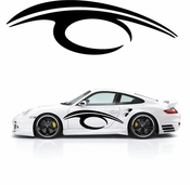 Pinstripe Pinstripes Car graphics Vinyl Decal Sticker Stickers MC794