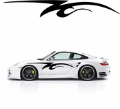 Pinstripe Pinstripes Car graphics Vinyl Decal Sticker Stickers MC802