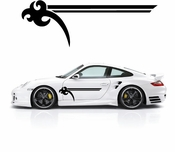 Pinstripe Pinstripes Car graphics Vinyl Decal Sticker Stickers MC810