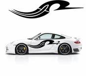 Pinstripe Pinstripes Car graphics Vinyl Decal Sticker Stickers MC818