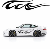 Pinstripe Pinstripes Car graphics Vinyl Decal Sticker Stickers MC820