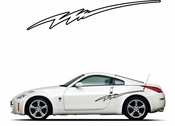 Pinstripe Pinstripes Car graphics Vinyl Decal Sticker Stickers MC838