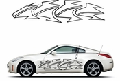 Pinstripe Pinstripes Car graphics Vinyl Decal Sticker Stickers MC889