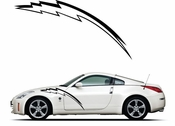 Pinstripe Pinstripes Car graphics Vinyl Decal Sticker Stickers MC891