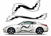 Pinstripe Pinstripes Car graphics Vinyl Decal Sticker Stickers MC892