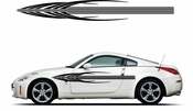 Pinstripe Pinstripes Car graphics Vinyl Decal Sticker Stickers MC907