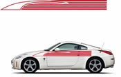 Pinstripe Pinstripes Car graphics Vinyl Decal Sticker Stickers MC908