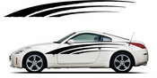 Pinstripe Pinstripes Car graphics Vinyl Decal Sticker Stickers MC912