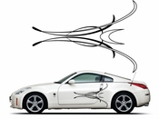 Pinstripe Pinstripes Car graphics Vinyl Decal Sticker Stickers MC914